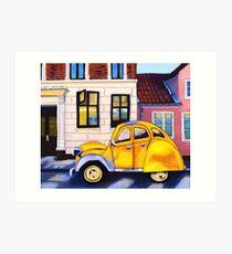 Afternoon Car Art Print