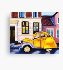Afternoon Car Canvas Print