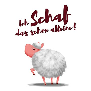 in german: Yes sheep can by Kellenbrink