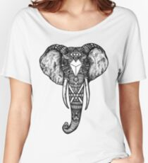 Animals - Sacred Geometry Elephant Women's Relaxed Fit T-Shirt