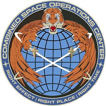 Combined Space Operations Center Crest by Spacestuffplus