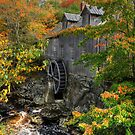 Fall at Sable River Mill by Amanda White