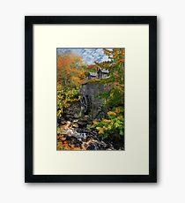 Fall at Sable River Mill Framed Print