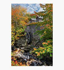 Fall at Sable River Mill Photographic Print