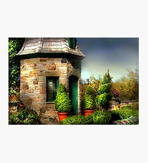 """ The  Garden House "" Photographic Print"