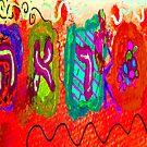 Behold in Cosmic Orange  by hdettman
