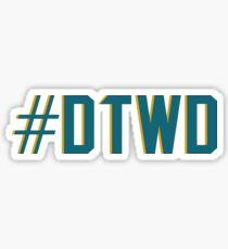 Pegatina #DTWD