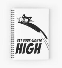 Set Your Sights High Spiral Notebook