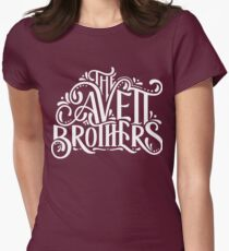 bowo The Avett Brothers logo tour Women's Fitted T-Shirt