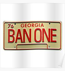 BAN ONE Poster