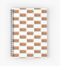 BAN ONE Spiral Notebook
