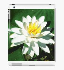 Lily on the Water iPad Case/Skin