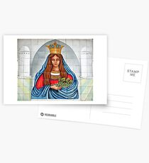Our Lady of the Grapes Mexican Tile Postcards