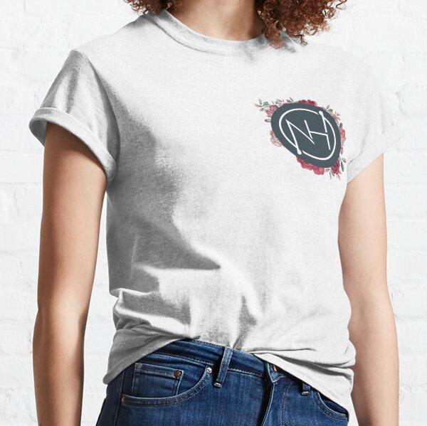 Logo de Niall Horan con flores Camiseta clásica
