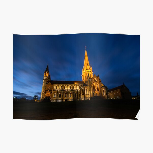 Sacred Heart Cathedral Poster