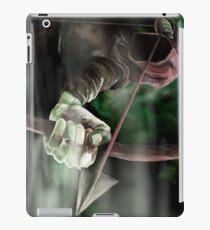 Robin the Hooded Man - Sherwood Forest, Robin Hood, Archer, Nottingham iPad Case/Skin