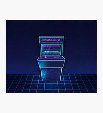 Future Arcade Photographic Print