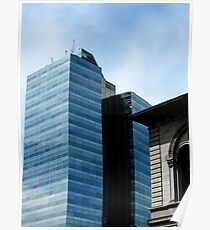 Tower of Glass Downtown Worcester, MA Poster