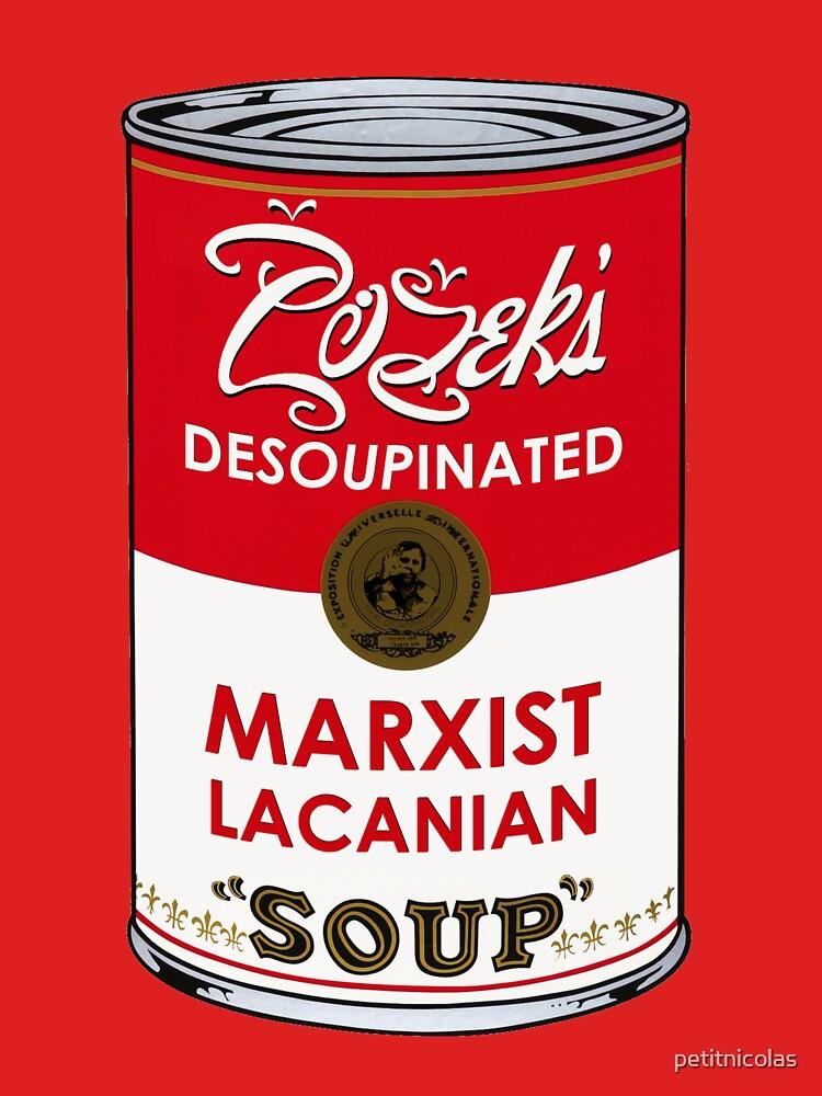 TShirtGifter presents: Zizek's Desoupinated Marxist Lacanian Soup | Unisex T-Shirt