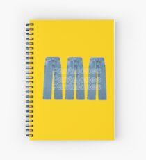 Jeans Spiral Notebook