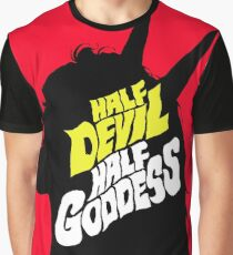 Half Devil Half Goddess Graphic T-Shirt
