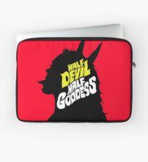 Half Devil Half Goddess Laptop Sleeve