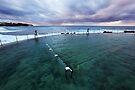 Bronte Beach Baths, Sydney, Australia by Michael Boniwell