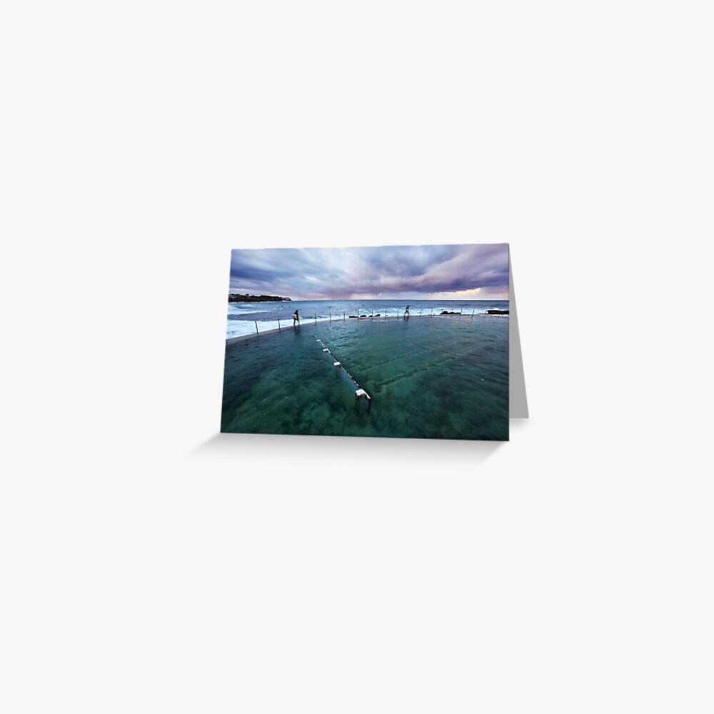 Bronte Beach Baths, Sydney, Australia Greeting Card