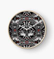ancient heraldry Clock