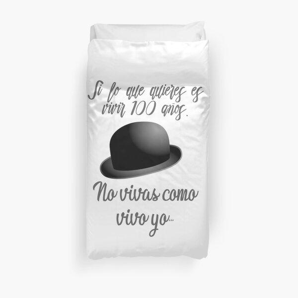 Chanson Joaquín Sabina, si tu veux vivre 100 ans Housse de couette