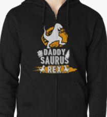 Daddy Saurus REX Zipped Hoodie