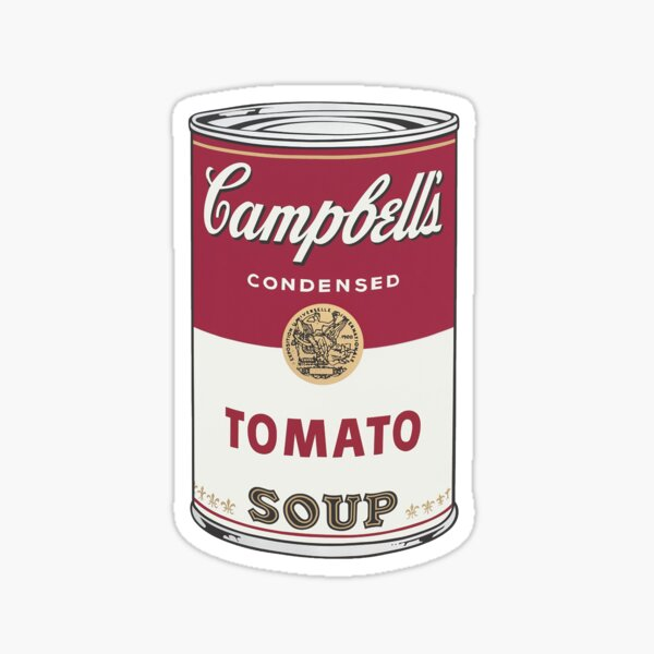 Campbell's soup Sticker