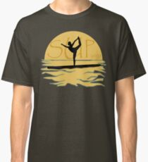 SUP yoga pose Stand Up Paddle Boarding Classic T-Shirt