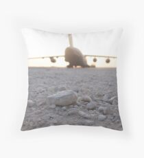 C17 Throw Pillow