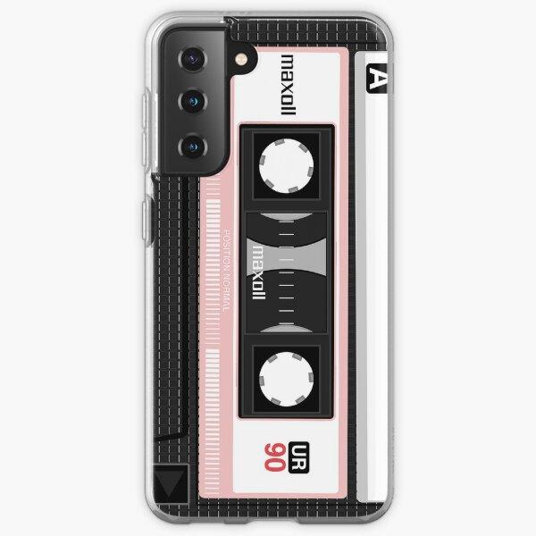 pink compact cassette Samsung Galaxy Soft Case