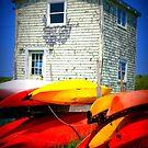 Boats by Lynne Prestebak