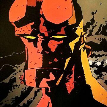 Hellboy says...Relax by Oclibertine