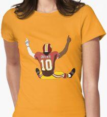 Robert Griffin III Celebration Women's Fitted T-Shirt