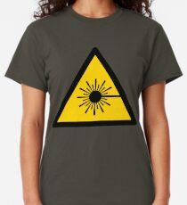 Warning Laser Radiation Classic T-Shirt