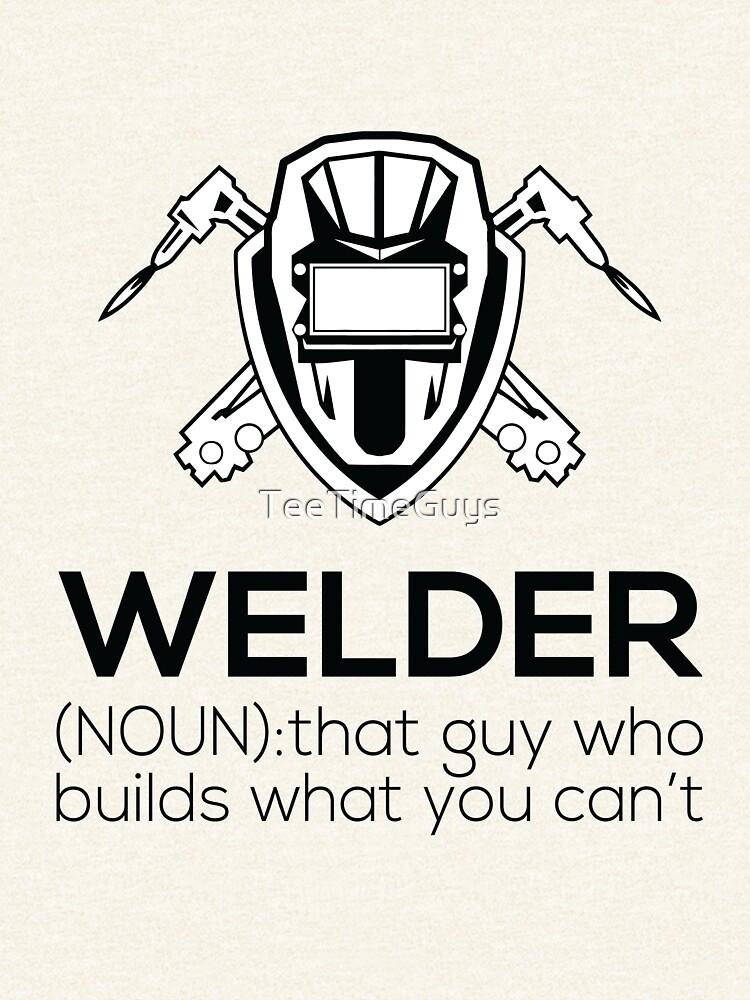 """Welder Definition V3"" Zipped Hoodie by TeeTimeGuys ..."