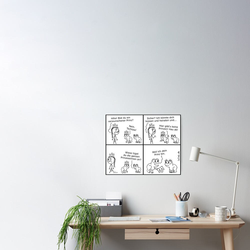 Prinz islieb Comic Poster
