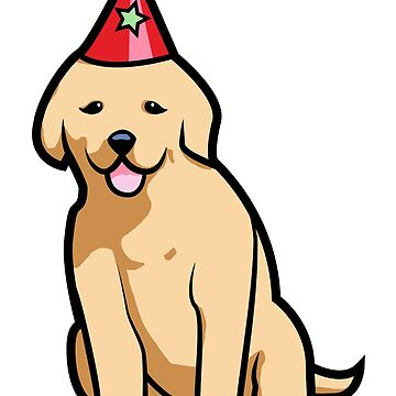 Golden Retriever Puppy Birthday by jrdesign1