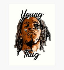 Young Thug for you Art Print