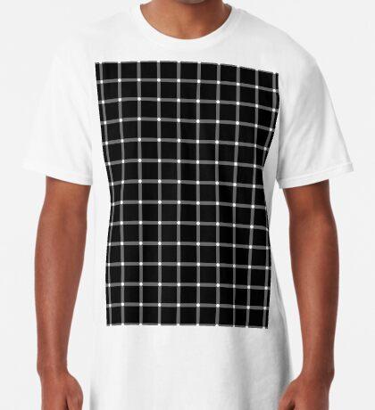 Scintillating Grid Long T-Shirt