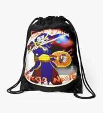 Get'ith Wrecked Naive Colored Drawstring Bag