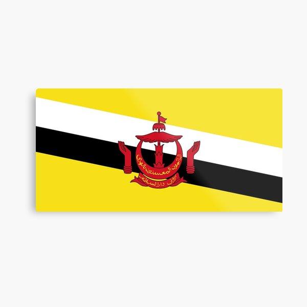Brunei Flag Metal Print