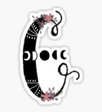 Witchy Letters : C Sticker