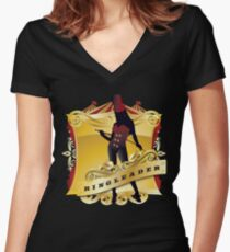 Circus Women's Fitted V-Neck T-Shirt