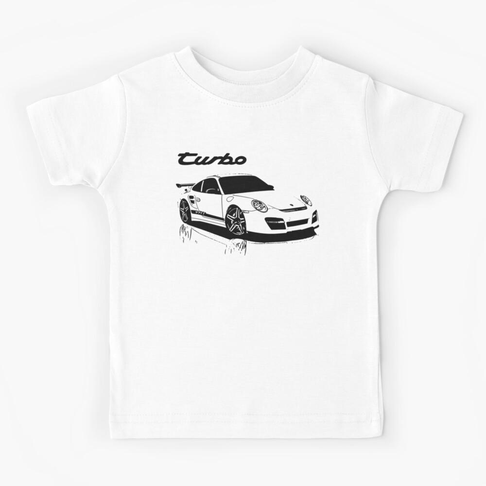 turbo - porsche 911 Kids T-Shirt