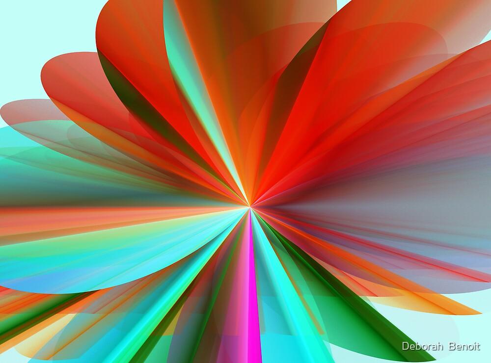 Petals of Color by Deborah  Benoit